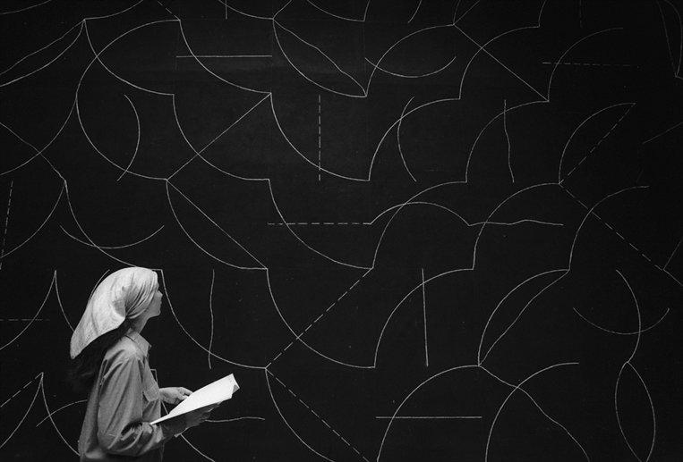 Sol Lewitt Biennale 1976 © David Lees